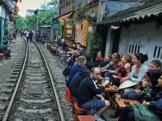 Hanoi clears Train Street cafés in haste