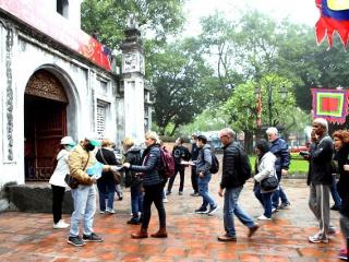 Du khách quốc tế yên tâm khi đến Hà Nội