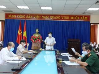 Bí thư Tỉnh ủy chỉ đạo thực hiện nghiêm Chỉ thị 16/CT-TTg của Thủ tướng Chính phủ kể từ 0 giờ ngày 1/4/2020