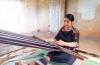 Ede ethic women preserve brocade weaving