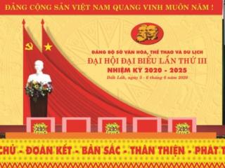 Dự thảo Báo cáo tổng kết thực hiện Nghị quyết Đại hội Đảng bộ Sở Văn hóa, Thể thao và Du lịch tỉnh Đắk Lắk, nhiệm kỳ 2015 – 2020