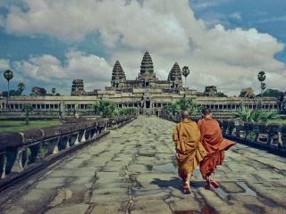 Campuchia:Quần thể đền Angkor vắng bóng du khách vì Covid-19