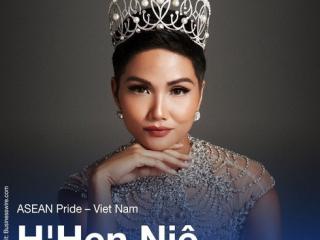 Miss H'Hen Nie honoured as 'Pride of ASEAN'