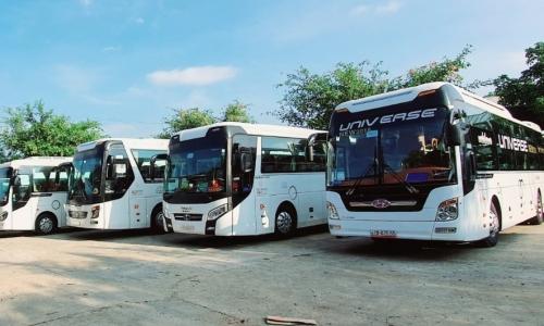 Giao thông đường bộ từ Đắk Lắk đến các tỉnh/thành phố.