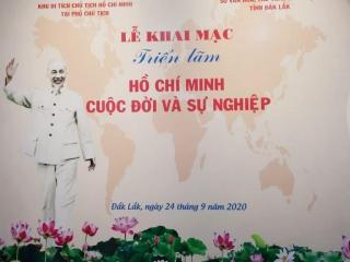 """Triển lãm """"Hồ Chí Minh cuộc đời và sự nghiệp"""""""