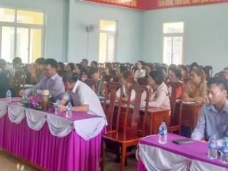 Bồi dưỡng nhận thức về phát triển du lịch cộng đồng tại huyện Cư M'gar