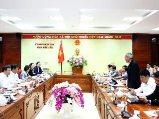 Đoàn công tác của Bộ Văn hóa, Thể thao và Du lịch làm việc với 5 tỉnh Tây Nguyên