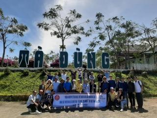 Đoàn FAMTRIP Đắk Lắk khảo sát các tuyến, điểm du lịch tại Đắk Nông