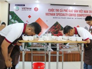 20 mẫu cà phê lọt vào vòng chung kết Cuộc thi Cà phê đặc sản Việt Nam năm 2021